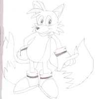 Tails Sketch by toonaddict2001