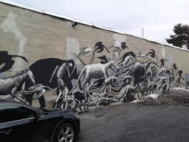 Wall Mural 01 by SirDNA109