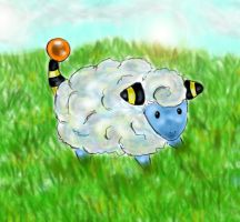 Mareep by 0TheNobody0