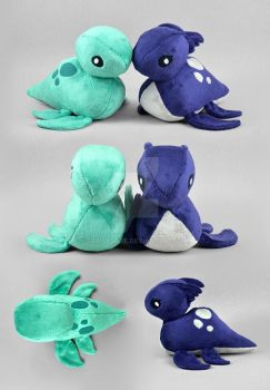 Nessie Loch Ness Monster Plush by SewDesuNe