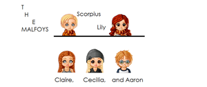 Malfoys, Lily Potter+Scorpius by lyssalou1996