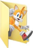 Request - Tails folder icon by ToonAlexSora007
