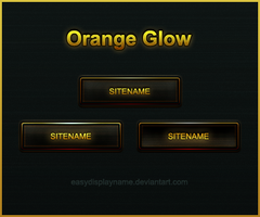 Orange Glow by easydisplayname