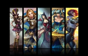 League of Legends by Ichi-Lychee