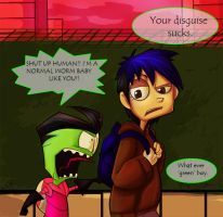 Invader Zim: Normal by Fly-Free12