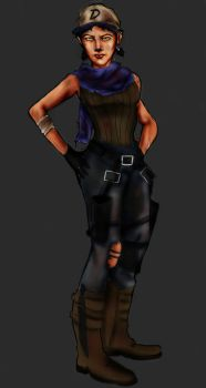The Walking Dead: Future Clementine 4 by Axels-inferno