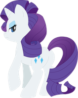 Snooty Rarity by TheSassyJessy