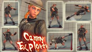Super street fighter 4 PC - CAMMY-EXPLORER by Siegfried129
