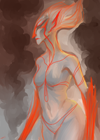 Fire Sketch by A-Griffin-And-Duck