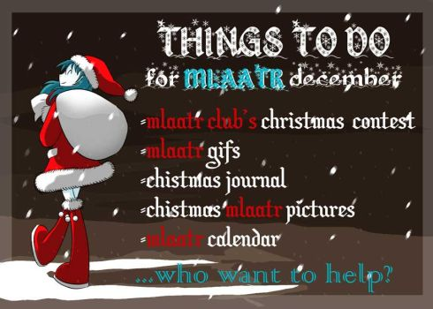 THINGS TO DO DECEMBER by shadow2007x