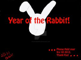 Simple Year of the Rabbit by BlueTigress94