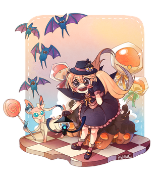 Halloween Pokemon Party by Pinoring