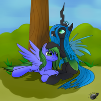 Breaktime - Chrysalis and LightBreeze by SetoNLR