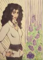 Commission Yennefer by Mariel-Sylventari