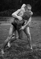 Wrestling boys-loove it by vishstudio