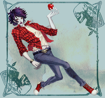 Bittersweet ~ Marshall Lee by LoveMacabre
