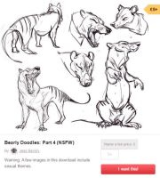 Bearly Doodles: Part 4 (NSFW) 5GBP by BearlyFeline