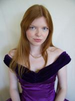 Purple Portrait 3 by chamberstock