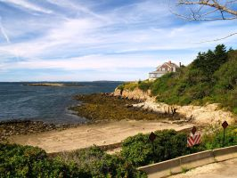 Land's End  Baileys Island Maine by davincipoppalag