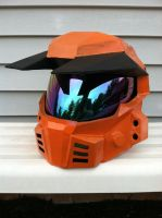 Grif Halo CE helmet by Red8ball