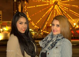 Angeline and Candy by igarcia