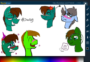 FlockDraw: TIMIDS!1! by MyMineAwesome