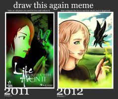 Draw this again - LIFE IS BETTER WITH ART IN IT by ArtisticAxis
