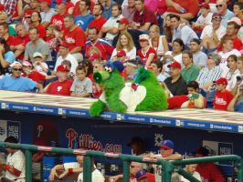 Phillie Phanatic by blaqkXaudi0sXm