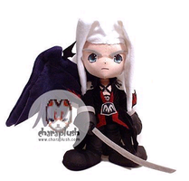 Final Fantasy Sephiroth Plush by kaijumama