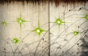 Painting Stars on Concrete by MisanthropicBastard