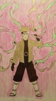 Naruto Sage of the Six Paths (color pencil) by Tok012