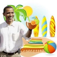 Barrack Obama by picturizr