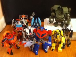 TFA: Autobot Collection by CHCHcartoons