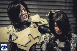 Gunnm - Battle Angel Alita cosplay by dinotiste