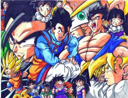 gohan tribute by trunks24