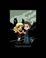 Dean and Jo, Supernatural Commission by TheSpyWhoLuvedMe