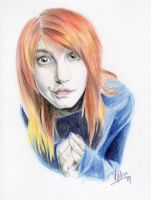 Hayley Williams by M-lovedAngel