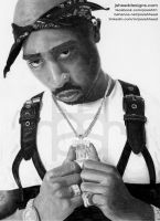 2pac Shakur by Niners01916