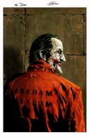 arkham patient : Mr J by BennyKusnoto