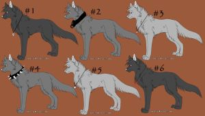 Special Adoptables 9 CLOSED by Dark-Wolf-Adoptables
