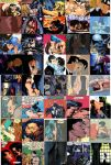 All the women batman have kissed by MAHGOL-DC-LOVER