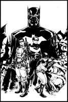 The Batman Legacy by xiconhoca