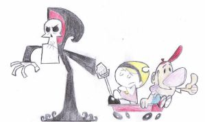 Billy, Grim and Mandy by Reven57