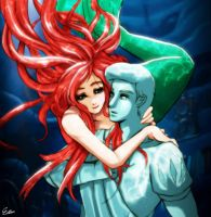 Little mermaid by Esther-fan-world