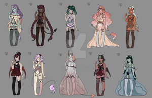 Lingerie adopts(OPEN) by tapiocAdopts
