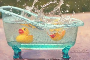 Rubber Duckies by YasminNich
