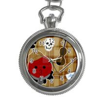 Limited Edition Sherloctopus Pocket Watch by egyptianruin