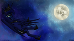 Luna's Moon by TheStIvE19