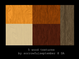 Wood Textures by SorrowfulSeptember