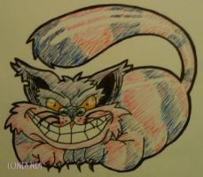 Cheshire Cat by ElectricDinoSaur